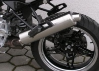 Zach stainless steel exhaust f. BMW R 1150 GS R Adventure