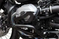 Cylinder protection cover aluminium black