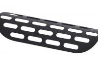 Auspuff Hitzeschutz Abdeckung CLASSIC, schwarz