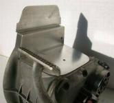 Abdeckblech Getriebe, 2V bis 1980 mit rundem Luftfilter