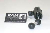 RAM Arm Verlängerung, schwarz