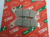 LUCAS MCB707SH brake pad back, Sinter