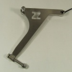 Zach bracket for rear footpeg BMW R 100 / 80 GS and R 80 G/S
