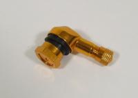 Aluminium valve stem 11,3 mm. gold for BMW