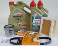 Maintenance package BMW R 1100 S 40.000km dual ignition Castrol 15W-50