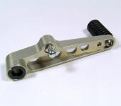 Schalthebel Aluminium CNC gefräst mit Rolle