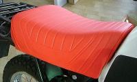 Einzelsitz für BMW R 80 G/S Paris Dakar Monolever, rot/orange