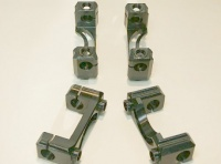 One-piece steel rocker arm stand (4 pieces) for BMW 2V Boxer a 10/75