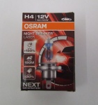 OSRAM H4 Night Breaker Unlimited 12 V 60/55 Watt + 110% Licht