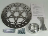 Brake disc kit 320 mm with adaptor plate for BMW R 80 G/S Monolever