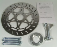 Brake disc kit 320 mm with adaptor plate for BMW R 80 / 100 GS Paralever
