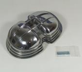 Ventildeckel Luxus, hochglanz, rund für alle BMW 2V Boxer ab 1970