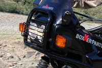 Dual head light for the R 100 / 80 GS since 90